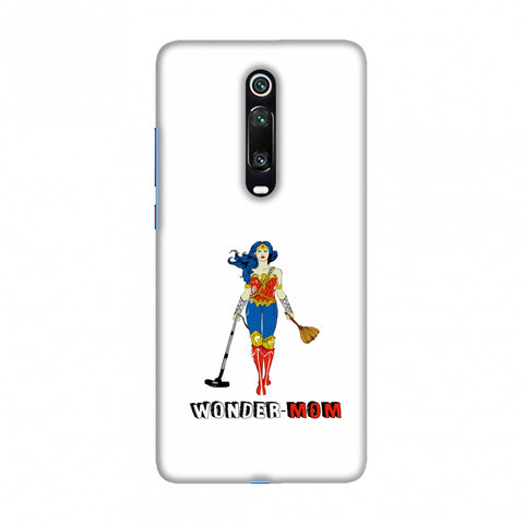 Wonder Mom- Beige Slim Hard Shell Case For Redmi K20/K20 Pro