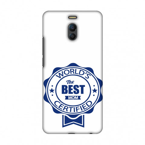 World's Certified - The Best Mom - White Slim Hard Shell Case For Meizu Note 6