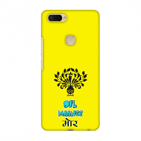 Dil Maange More - Yellow Slim Hard Shell Case For Vivo X20 Plus