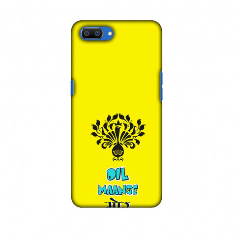 Dil Maange More - Yellow Slim Hard Shell Case For Oppo Realme C1