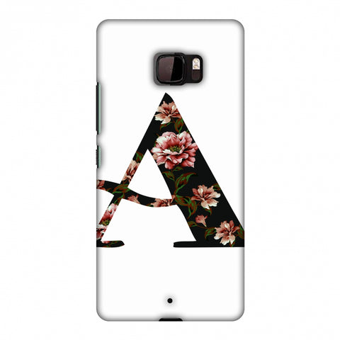 Floral Fill - A Slim Hard Shell Case For HTC U Ultra