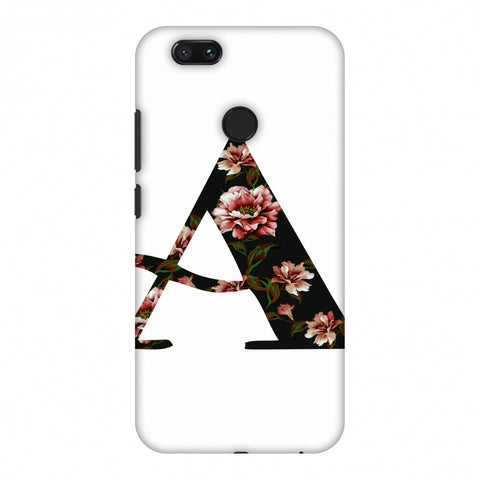 Floral Fill - A Slim Hard Shell Case For Xiaomi MI A1-5X