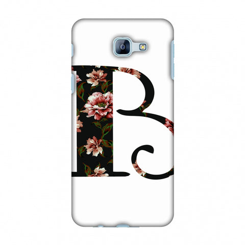 Floral Fill - B Slim Hard Shell Case For Samsung Galaxy A8 2016