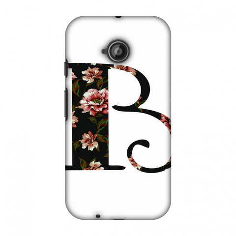 Floral Fill - B Slim Hard Shell Case For Motorola Moto E 2nd Gen