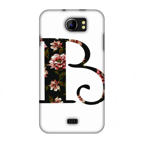 Floral Fill - B Slim Hard Shell Case For Micromax Canvas 2 A110