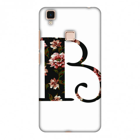 Floral Fill - B Slim Hard Shell Case For Vivo V3 Max
