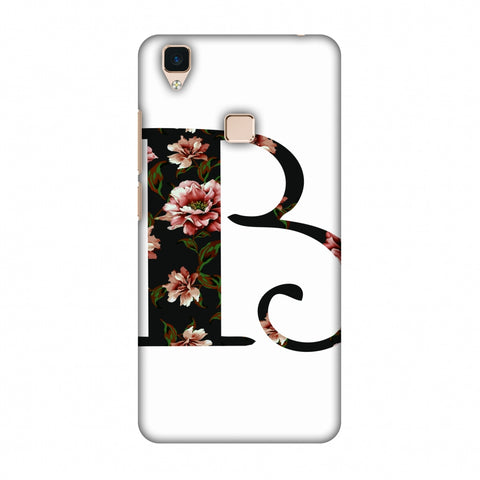 Floral Fill - B Slim Hard Shell Case For Vivo V3