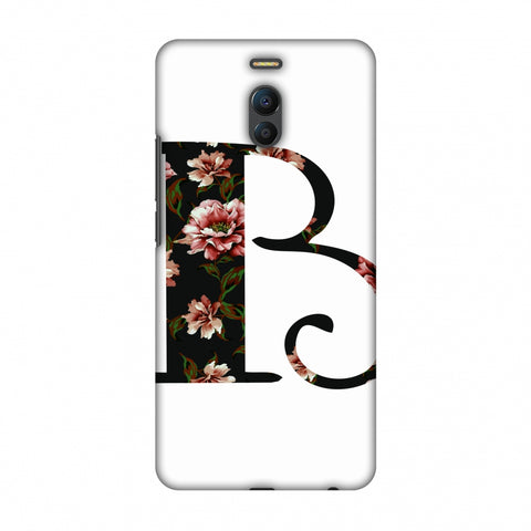 Floral Fill - B Slim Hard Shell Case For Meizu Note 6