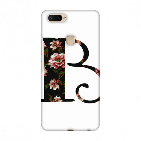 Floral Fill - B Slim Hard Shell Case For Vivo X20 Plus