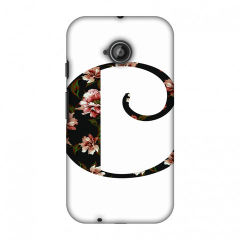 Floral Fill - C Slim Hard Shell Case For Motorola Moto E 2nd Gen