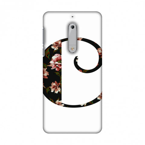 Floral Fill - C Slim Hard Shell Case For Nokia 5