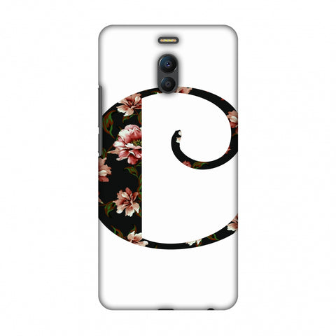 Floral Fill - C Slim Hard Shell Case For Meizu Note 6