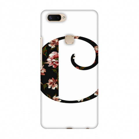 Floral Fill - C Slim Hard Shell Case For Vivo X20 Plus