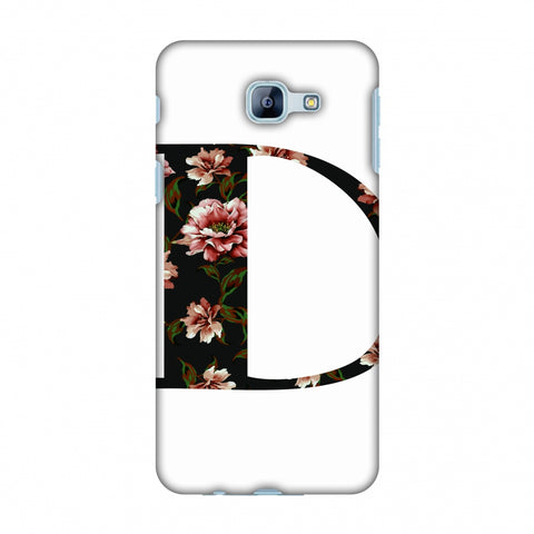 Floral Fill - D Slim Hard Shell Case For Samsung Galaxy A8 2016