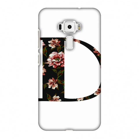 Floral Fill - D Slim Hard Shell Case For Asus Zenfone 3 ZE520KL