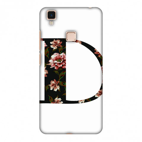 Floral Fill - D Slim Hard Shell Case For Vivo V3 Max