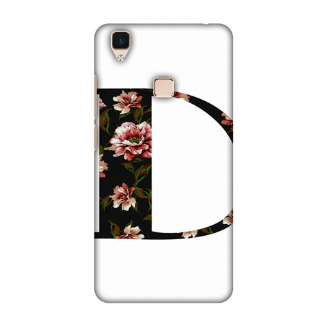 Floral Fill - D Slim Hard Shell Case For Vivo V3