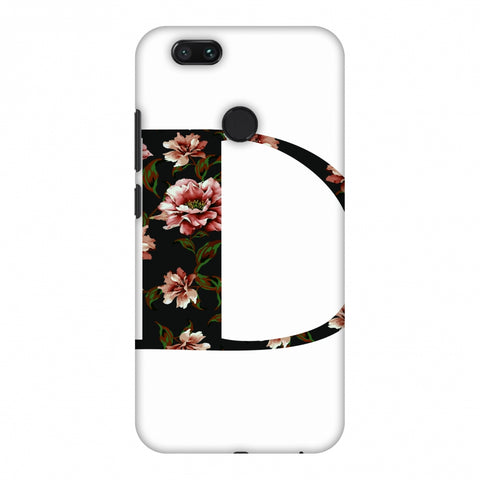 Floral Fill - D Slim Hard Shell Case For Xiaomi MI A1-5X