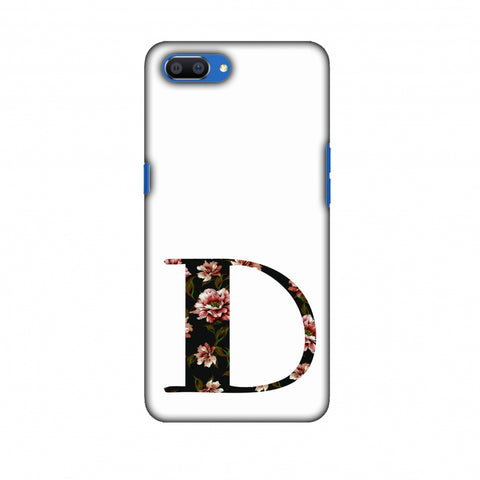 Floral Fill - D Slim Hard Shell Case For Oppo Realme C1