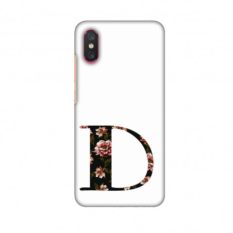 Floral Fill - D Slim Hard Shell Case For Xiaomi Mi 8 Pro