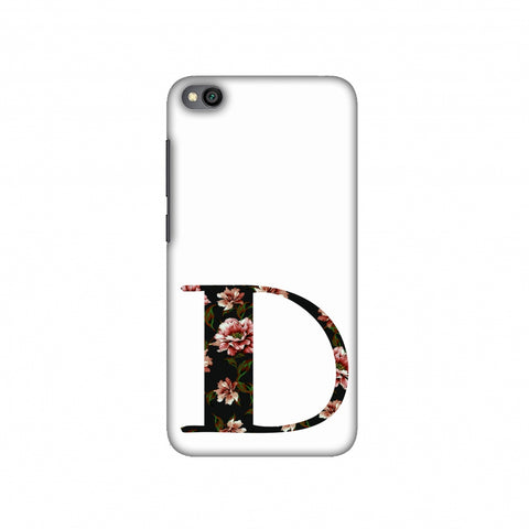 Floral Fill- D Slim Hard Shell Case For Redmi Go