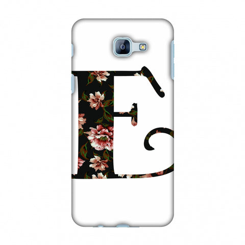 Floral Fill - E Slim Hard Shell Case For Samsung Galaxy A8 2016