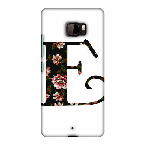 Floral Fill - E Slim Hard Shell Case For HTC U Ultra