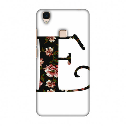 Floral Fill - E Slim Hard Shell Case For Vivo V3