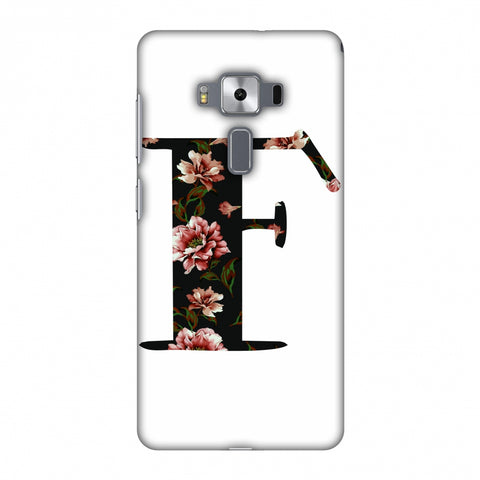 Floral Fill - F Slim Hard Shell Case For Asus Zenfone 3 Deluxe ZS570KL