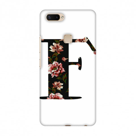 Floral Fill - F Slim Hard Shell Case For Vivo X20 Plus