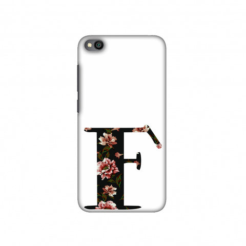 Floral Fill- F Slim Hard Shell Case For Redmi Go