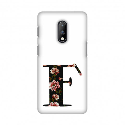 Floral Fill- F Slim Hard Shell Case For OnePlus 7
