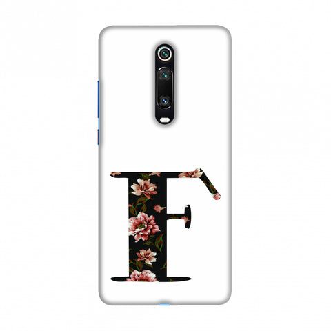 Floral Fill- F Slim Hard Shell Case For Redmi K20/K20 Pro