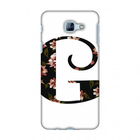 Floral Fill - G Slim Hard Shell Case For Samsung Galaxy A8 2016