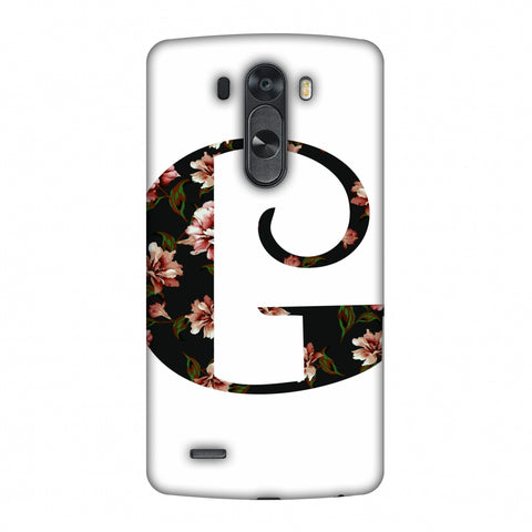 Floral Fill - G Slim Hard Shell Case For LG G4