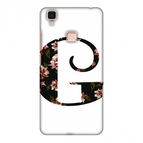 Floral Fill - G Slim Hard Shell Case For Vivo V3 Max
