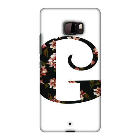 Floral Fill - G Slim Hard Shell Case For HTC U Ultra