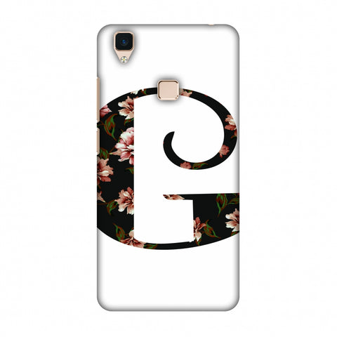 Floral Fill - G Slim Hard Shell Case For Vivo V3
