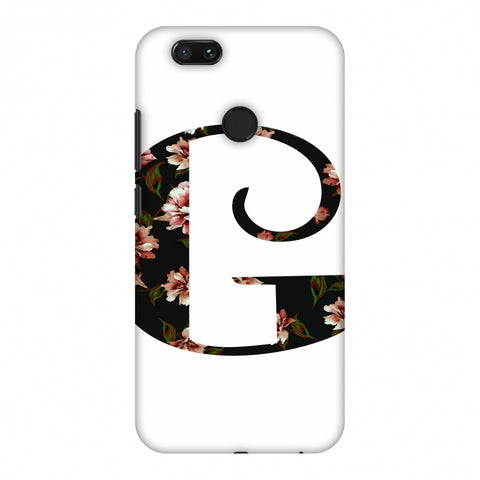 Floral Fill - G Slim Hard Shell Case For Xiaomi MI A1-5X