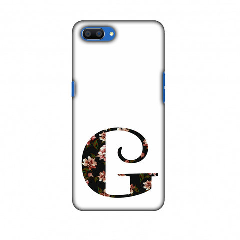 Floral Fill - G Slim Hard Shell Case For Oppo Realme C1