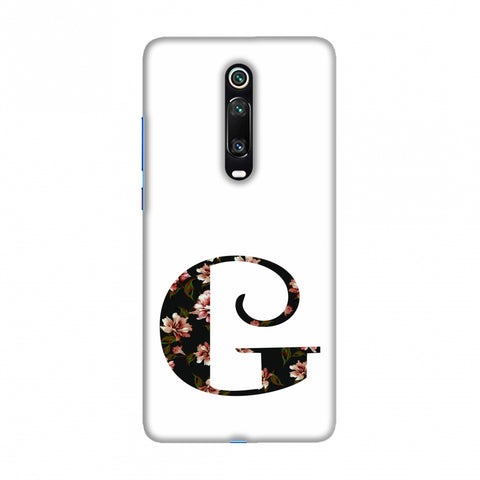 Floral Fill- G Slim Hard Shell Case For Redmi K20/K20 Pro