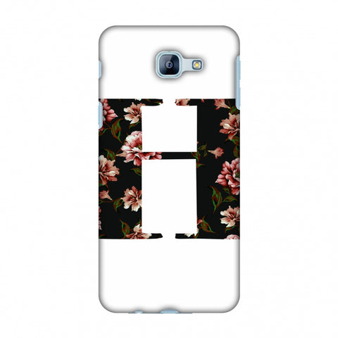 Floral Fill - H Slim Hard Shell Case For Samsung Galaxy A8 2016