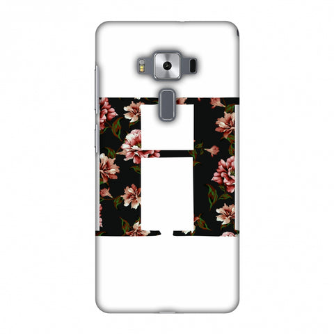 Floral Fill - H Slim Hard Shell Case For Asus Zenfone 3 Deluxe ZS570KL