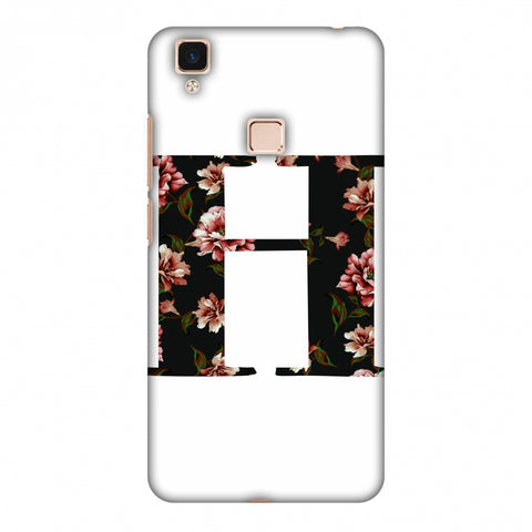 Floral Fill - H Slim Hard Shell Case For Vivo V3 Max