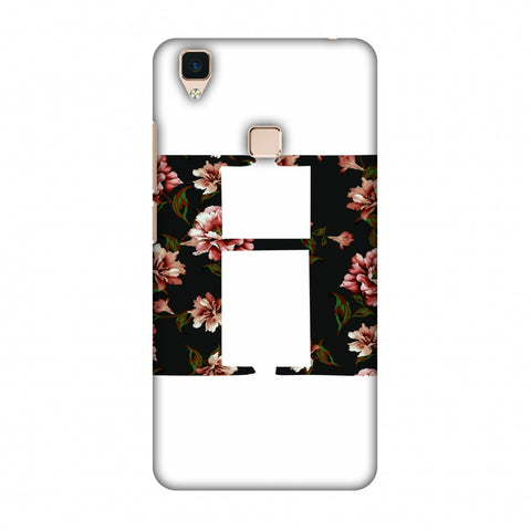 Floral Fill - H Slim Hard Shell Case For Vivo V3