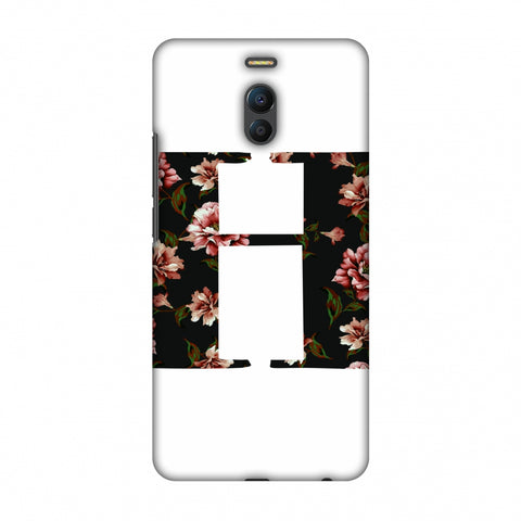 Floral Fill - H Slim Hard Shell Case For Meizu Note 6
