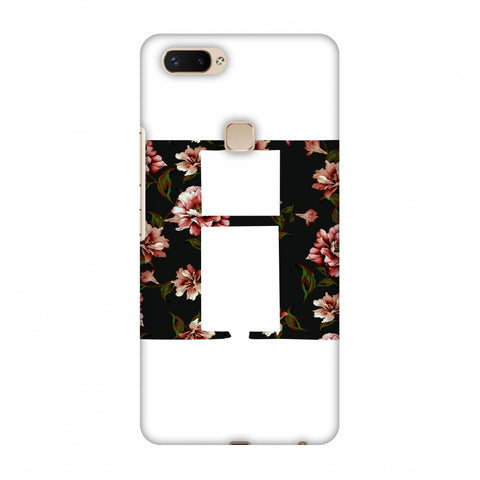 Floral Fill - H Slim Hard Shell Case For Vivo X20 Plus
