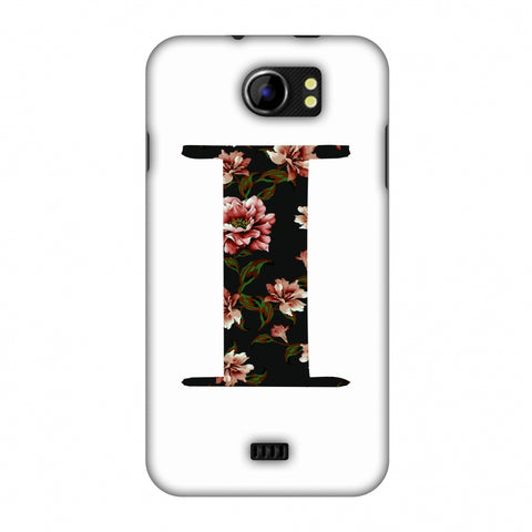 Floral Fill - I Slim Hard Shell Case For Micromax Canvas 2 A110