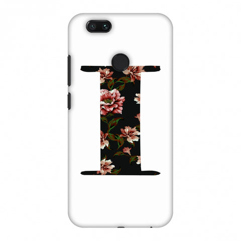 Floral Fill - I Slim Hard Shell Case For Xiaomi MI A1-5X