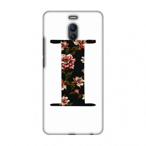 Floral Fill - I Slim Hard Shell Case For Meizu Note 6